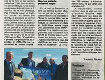 Revue de Presse - Journal des Sables 05 juin 2014