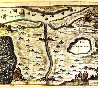 Le Pays du Tendre : une cartographie de l'Amour précieux