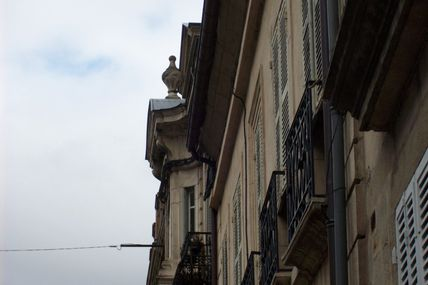 Quartier centre ville : la rue Jeanin.