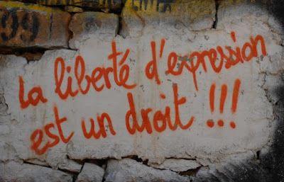 la Liberté d'expression existe - pas la liberté d'Oppression...c'est une non-liberté...