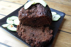 Cake chocolat courgettes