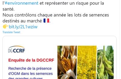 La DGCCRF contribue à une scandaleuse désinformation sur les OGM