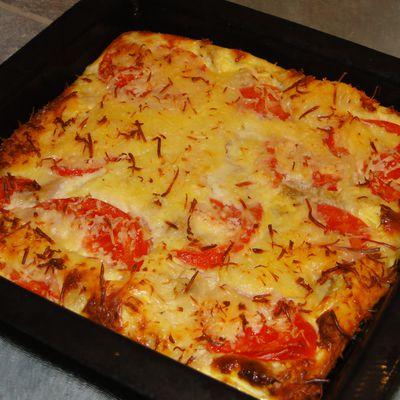 Quiche Thon-Tomates (Dukan)