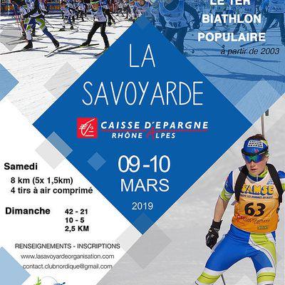 LA  SAVOYARDE  BIATHLON  2019.