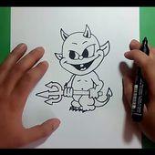 Como dibujar un demonio paso a paso 3 | How to draw a demon 3