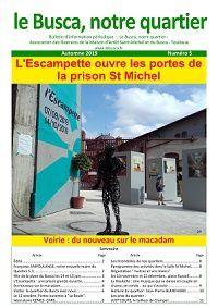 """Le numéro 5 du journal """"Le Busca, notre quartier"""" est paru"""