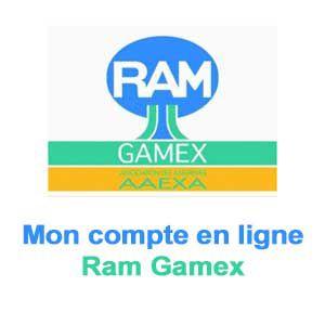 Ram gamex mon compte