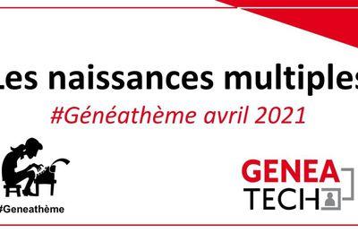 Généathème - avril 2021 - Les jumeaux du couple Louis Justin MAUGER & Estelle Evodie VIOLETTE