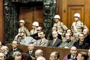 Nuremberg - Defendants Enter