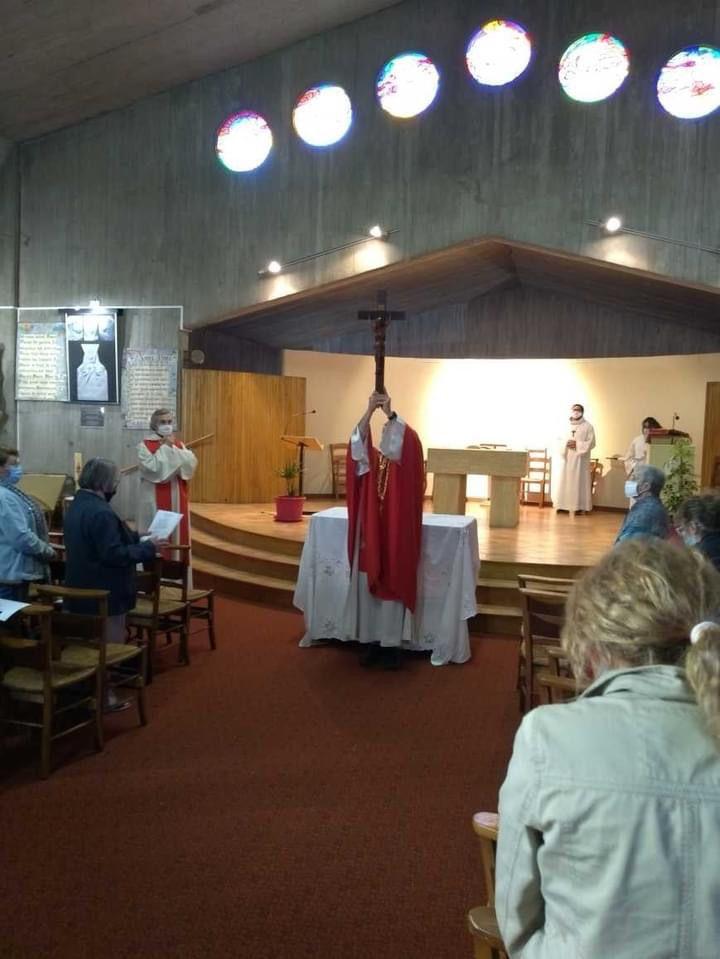 Jeudi et Vendredi Saints en l'église Notre Dame de bon voyage