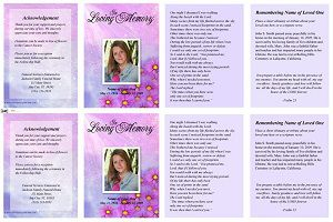 Create Beautiful Funeral Memorial Cards to Share with Everyone
