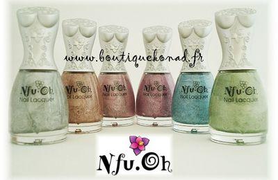 La série complète des vernis holo Nfu Oh