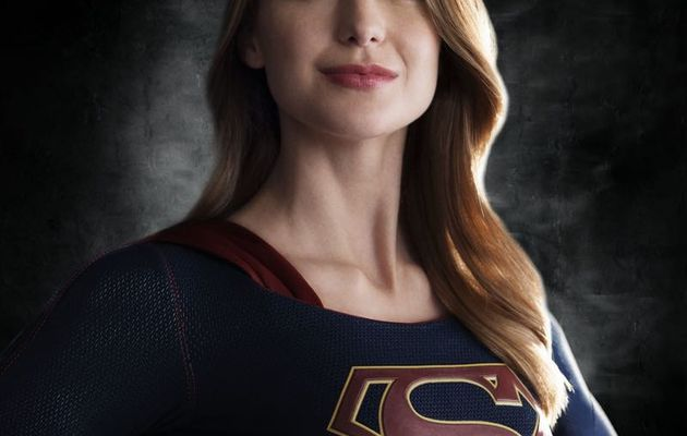 Supergirl en costume
