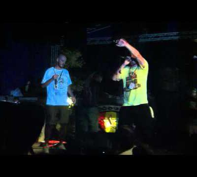 LONGFINGAH & STEPPA STYLE - WIGGLE & WINE @ UPRISING Reggae Festival 2012,