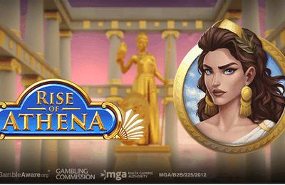 L'ascension de la déesse Athena dans la toute dernière machine à sous Play'n Go