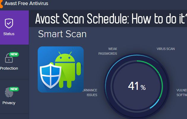 Avast Scan Schedule: How to do It?