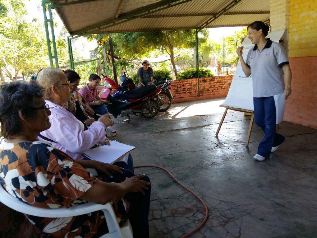 Reunión de promotores voluntarios del pro-huerta