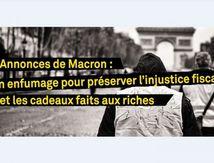 En 2019, les cadeaux aux riches et aux entreprises feront peser une lourde menace sur le modèle social français