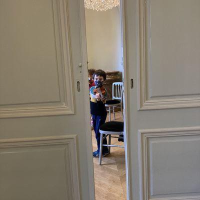 Lucien découvre les instruments - fin de session Violon, spectacle mars 2021
