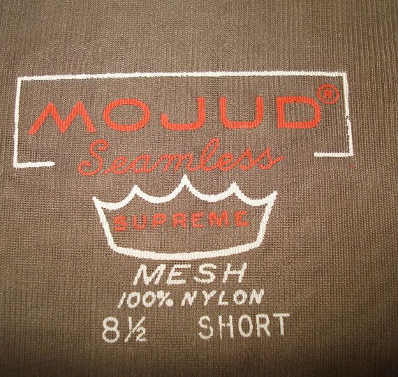 MOJUD labels on welt