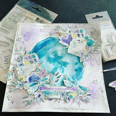 petit craquage nouvelle collection chou and flowers et création