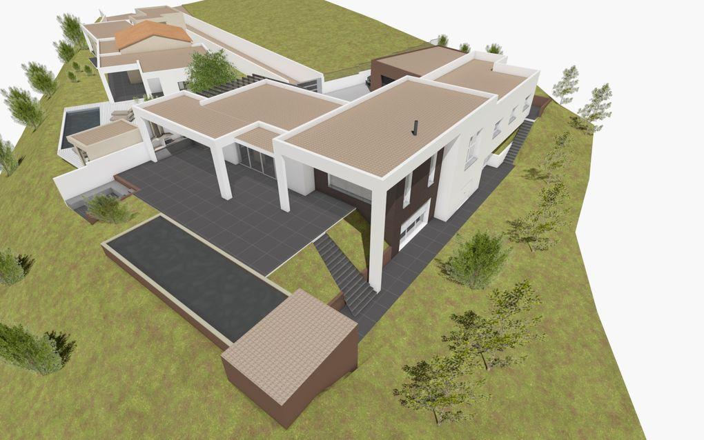 Mission de conception pour 2 villas individuelles sur la commune de Corneilhan