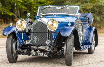 1929 Lorraine-Dietrich Type B3/6 Sport Le Mans cabriolet par Gangloff