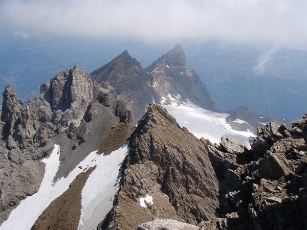 Dent du Midi: Haute Cime, depuis Champéry (2/2)
