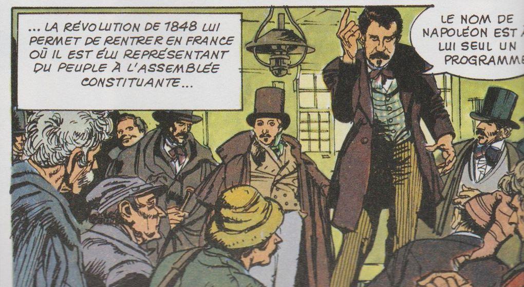 L'Histoire de France en BD de la Gaule à De Gaulle. ( Seconde partie)