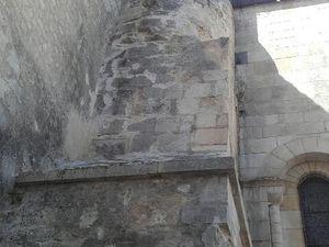 Ce fut le premier jour et au gré des pas des photos.... le lendemain c'est un peu différent et nous nous retrouvons sur le site des thermes romains de Saintes (enfin l'un des deux thermes dont on a conservé la mémoire et des vestiges).
