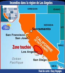 [Etats-Unis] Sécheresse, vent : violents incendies (Californie)