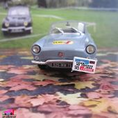 FASCICULE N°51 RENAULT FLORIDE RADIO EUROPE 1 NOREV 1/43 - car-collector