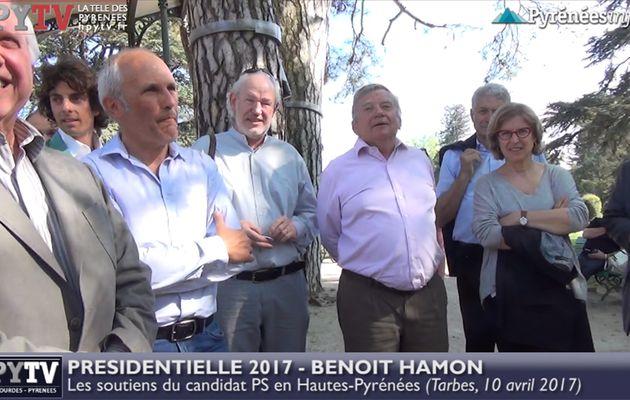 HPyTv Présidentielle | Les soutiens de Benoît Hamon en Hautes Pyrénées (10 avril 2017)