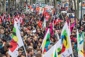 Défilé du 1er Mai: instantanés de la France qui marche