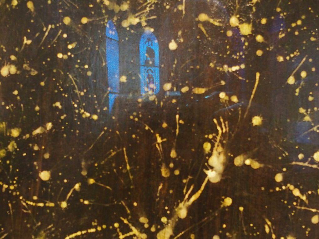 Vues de l'exposition Jheronimus Bosch. I dipinti veneziani restaurati, Gallerie dell'Accademia, Venise. © photographies Le Curieux des arts Gilles Kraemer, janvier 2016