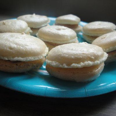 Mes premiers macarons !