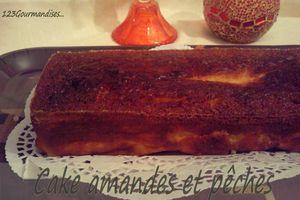 Cakes amandes, pêches et sirop d'érable