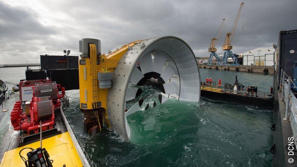 Naval Group et EDF abandonnent le parc d'hydroliennes de Paimpol-Bréhat