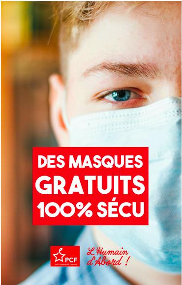 Covid-19 / Annonces : les Français payent l'échec de la politique sanitaire d'Émmanuel Macron.PCF