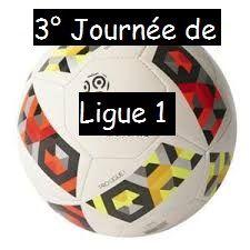 Ligue 1 - 3° journée (18, 19 et 20 août 2017)