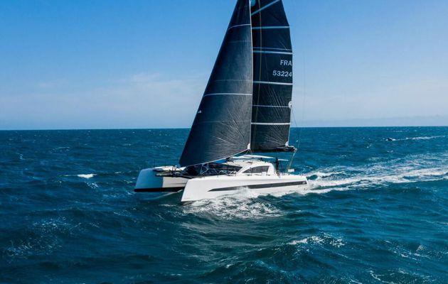 Un catamaran de 18m en fibre de lin, pour Roland Jourdain