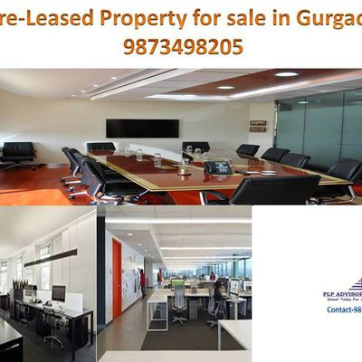 Pre Leased Property For Sale in Gurgaon:9873498205