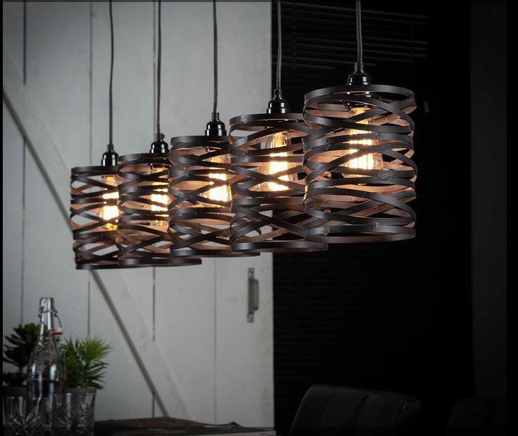 luminaire design industriel déco original suspensions lampes plafonniers