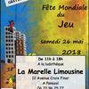 Fête Mondiale du Jeu 2018 à Panazol et Feytiat