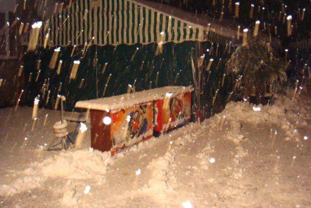 Album - Dimanche un marche sous la neige