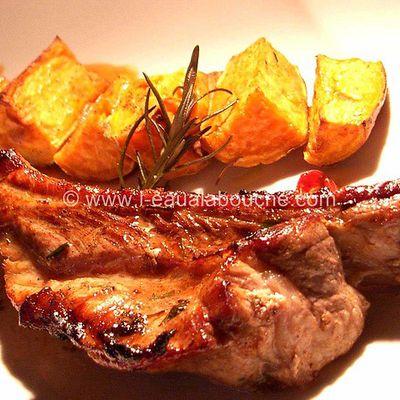 Fricassée Grillée & Patates Douces aux Herbes