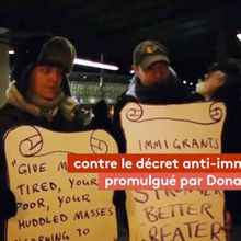 Etats-Unis : manifestations contre le décret anti-migrants de Trump