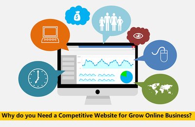 Why do you Need a Competitive Website for Grow Online Business?