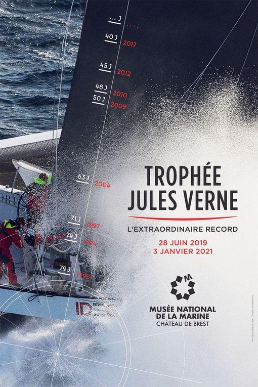 Brest – Une exposition inédite sur le Trophée Jules Verne, à partir du 28 juin prochain