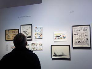 Gaston Lagaffe fête ses 60 ans à la Bpi du Centre Pompidou